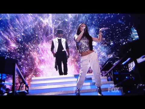"""Tonight"" Live performance by Jessica Sanchez & Ne-Yo on American Idol"