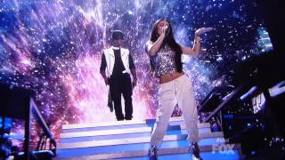 """Tonight"" Live performance by Jessica Sanchez & Ne-Yo on American Idol"
