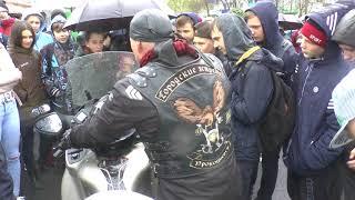 Обучение подростков от мотоклуба Городские Ястребы