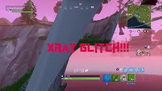 CRAZY NEW XRAY MOUNTAIN GLITCH ON FORTNITE BATTLE ROYALE!