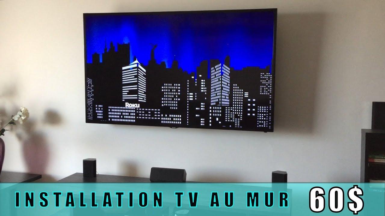 Comment Installer Tv Au Mur stmtv publicité | installation television au mur | support murale