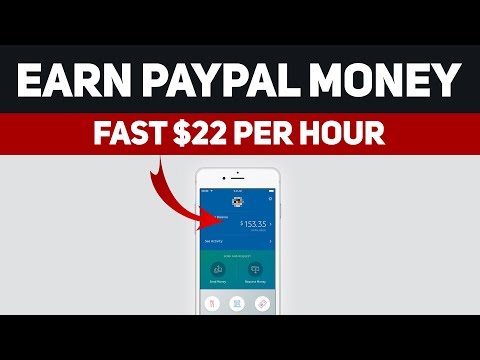 Earn Paypal Money Fast $22 + Per Hour (Make Money Online)