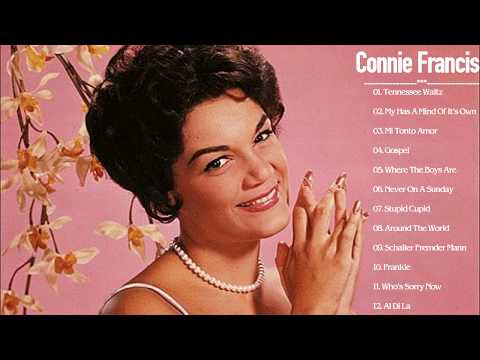 Connie Francis Greatest Hits Full Album  Best Songs Of Connie Francis