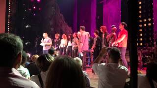 Hedwig and the Angry Inch - Final curtain call. Thanks and Wig in a Box