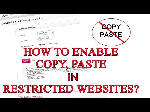 How To Enable Copy & Paste On Annoying Sites That Block It