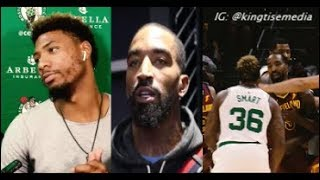 Marcus Smart Swears On His Dead Mother He'll Fight JR Smith & JR Smith Responds PULL UP