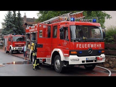 Waldeck: Küchenbrand in Höringhausen, 5 Personen in Klinik