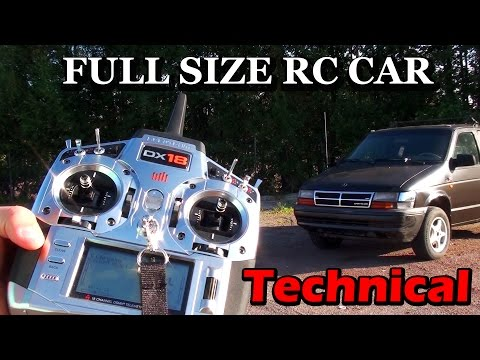 Full size RC Car Technical