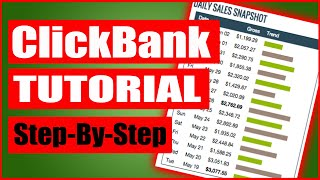 How To Make Money On Clickbank- Affiliate Marketing For Beginners [6 Steps]