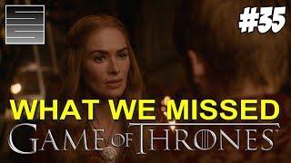 Game Of Thrones Season 8 Prep Foreshadowing | Game Of Thrones What You Missed Part 35