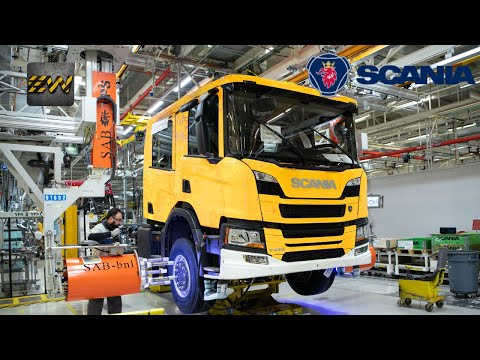 How HUGE Scania Trucks Are Made In Netherlands? (Complete Process Video)