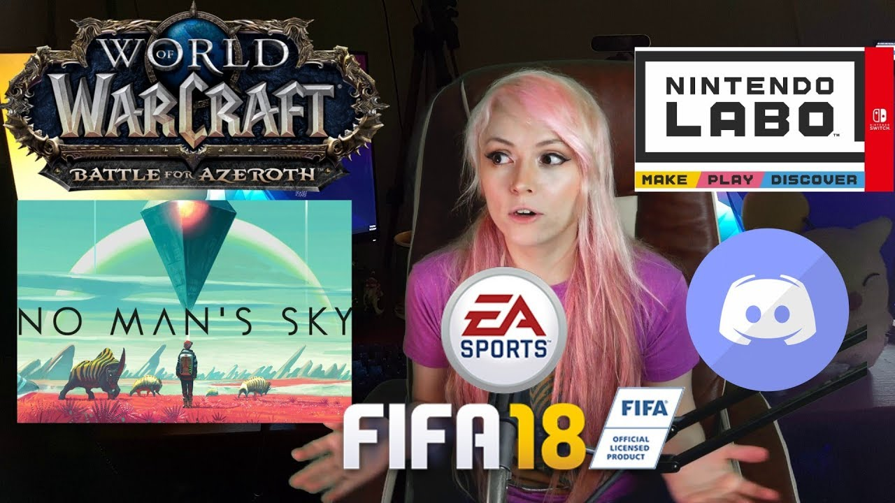 Gaming News - Discord Deletes FF14 HENTAI CHANNEL! Man Spends $10K on FIFA! Battle for Azeroth HYPE!
