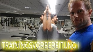Rhomboiden Training (Aktivierungs-Übung) + Wall Slides | Training mit Timo (Personal Trainer) Teil 2