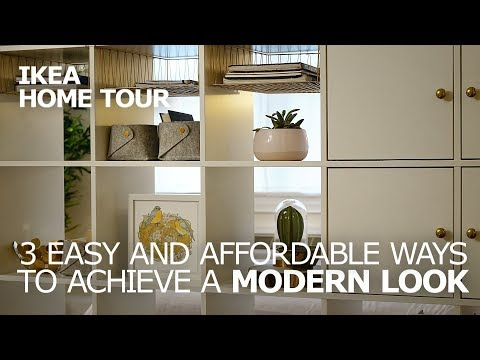 3 Modern Decorating Ideas for Your Studio Apartment - IKEA Home Tour