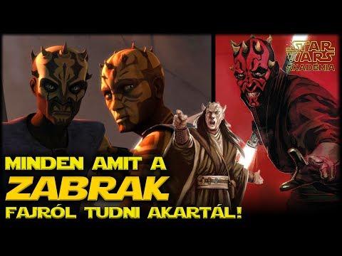 A Zabrak faj - Vagyis minden amit tudni szerettél volna róluk...| Star Wars Akadémia
