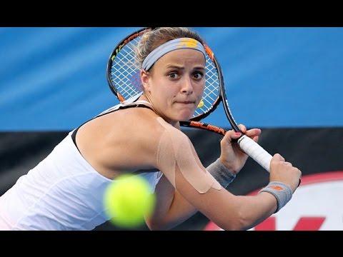 Nicole Gibbs v Kristina Mladenovic highlights (2R) | Australian Open 2016