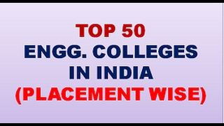TOP 50 ENGG  COLLEGES IN INDIA ||best engineering colleges in India