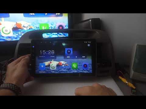 Обзор штатной магнитолы для автомобиля (Toyota Camry 30)камеры заднего вида, дополнительного экрана