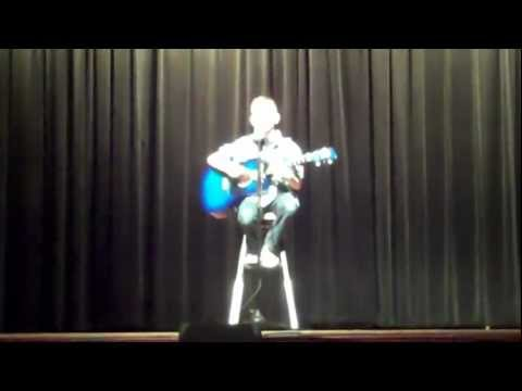 Jacob at Central Elementary Talent Show 2013 - afternoon performance