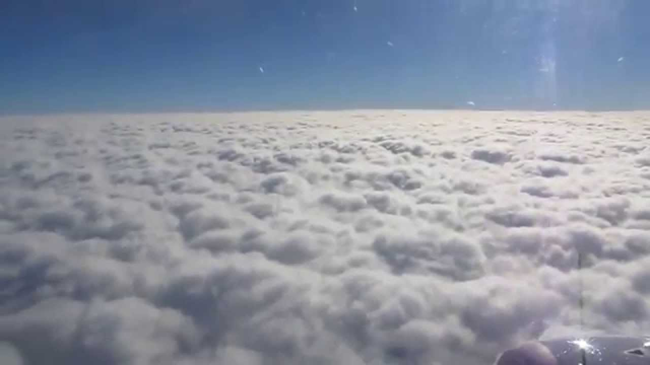 sky above clouds hd let iznad oblaka youtube