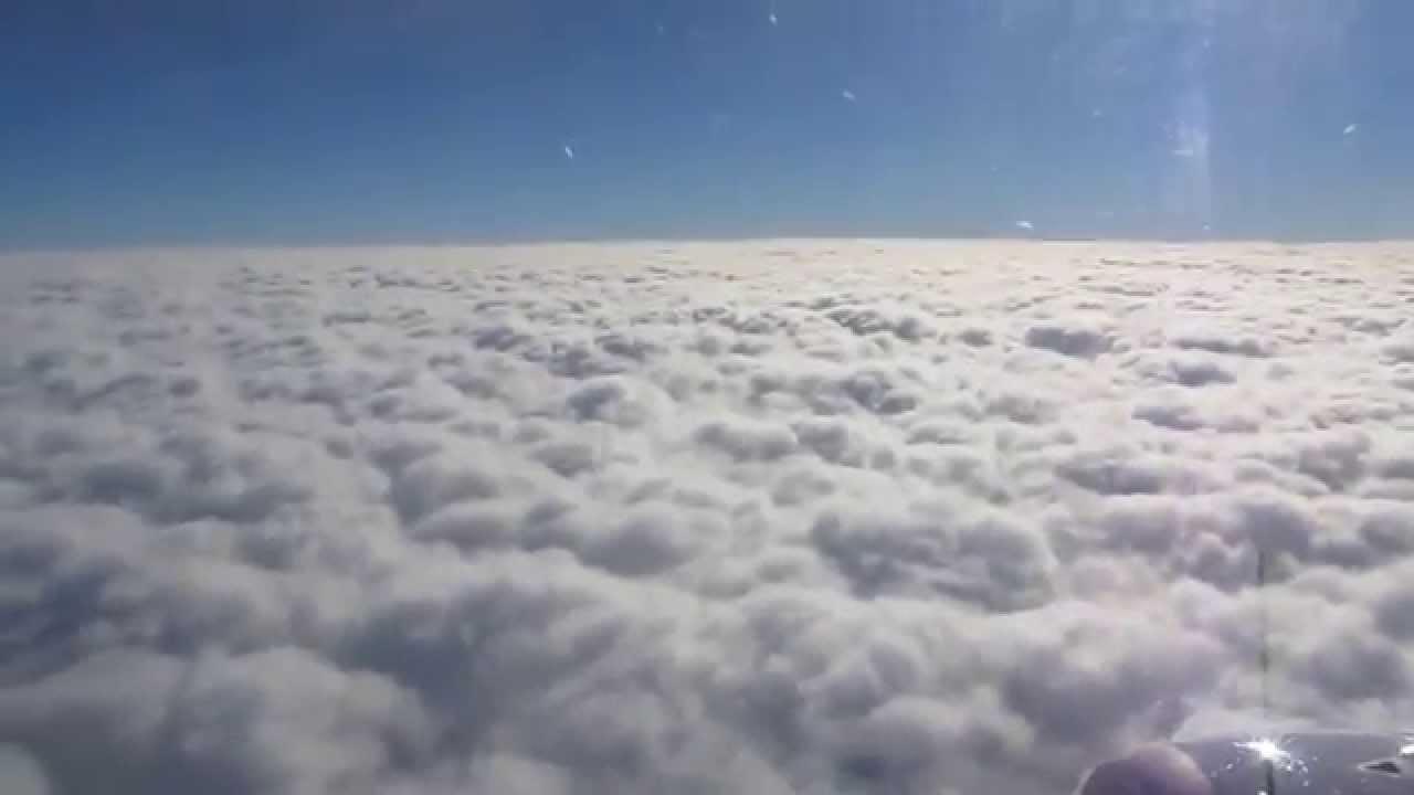 Sky above clouds HD \ Let iznad oblaka - YouTube