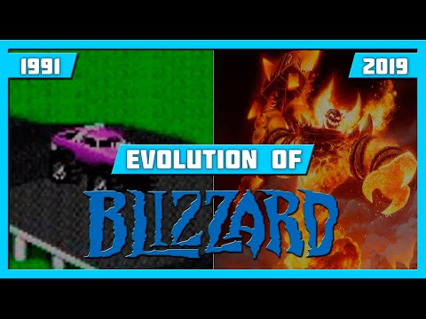 EVOLUTION OF BLIZZARD GAMES (1991-2019)