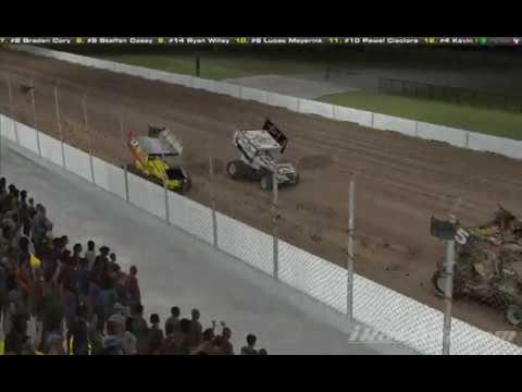 Usa Raceway 3rd 305 Winged Sprint Car