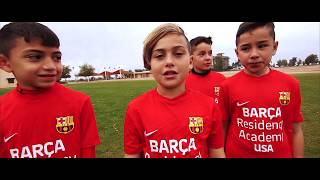 CRAZY SOCCER CHALLENGES at BARCELONA CAMP. INSANE FORFEIT!!!