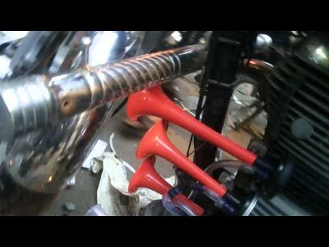 3 pipe prussure horn by bikes mantra