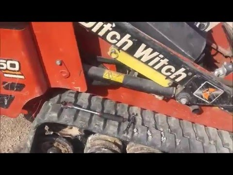 *FIXED-Ditch Witch SK750 starter removal and dissassembly