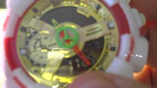 Casio G-Shock WR20BAR Model Watch Unboxing/Overview