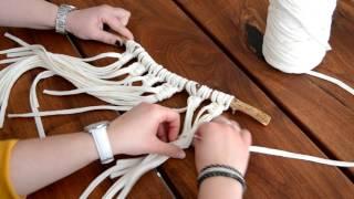INSPIRATIE | DIY Macramé hanger maken