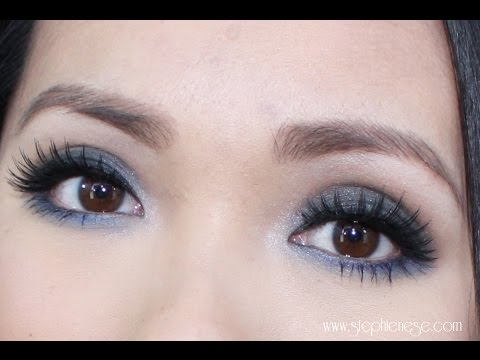 Gunmetal Blues Makeup Tutorial