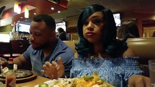 APPLEBEES WITH HUBBY AND FAM