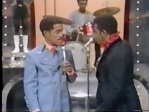 James Brown and Sammy Davis Junior There was a time dancing together