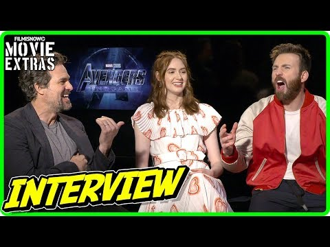 AVENGERS: ENDGAME | Chris Evans, Karen Gillan & Mark Raffalo talk about the movie
