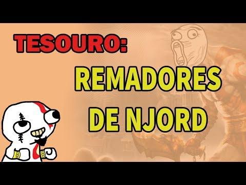 God of War - Tesouro: REMADORES DE NJORD