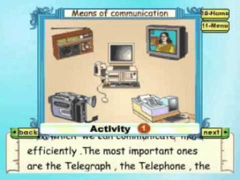 Learn Evs - Class 2 - Means of Communication Part-2 - Animation ...