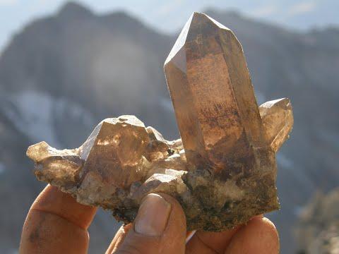 Auf der Suche nach Kristallen