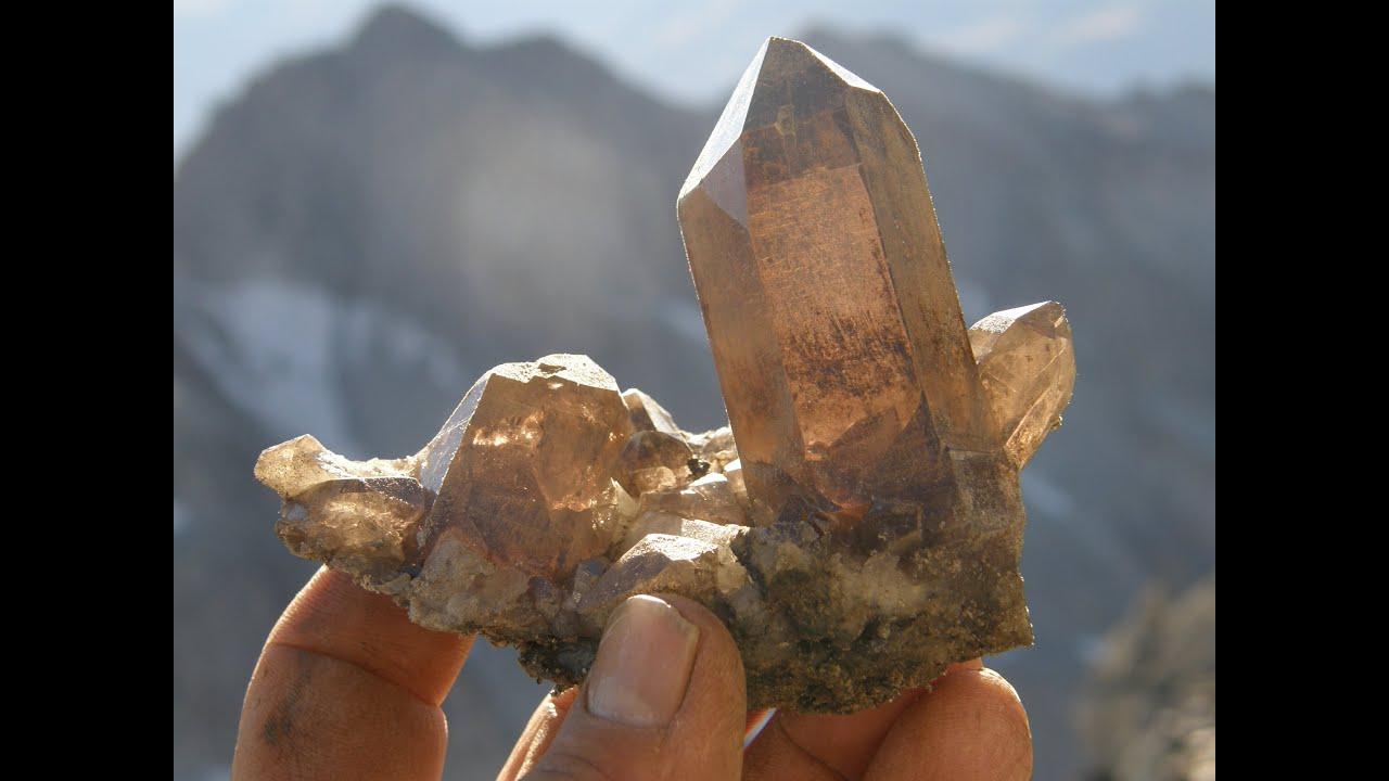 Bergkristalle Finden