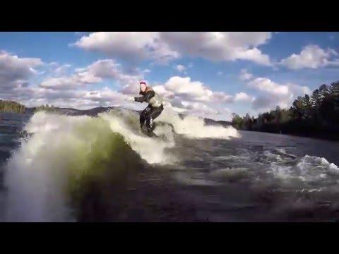 Christmas Winter Surf Experience 1.2 Desjardins Marine, Quebec