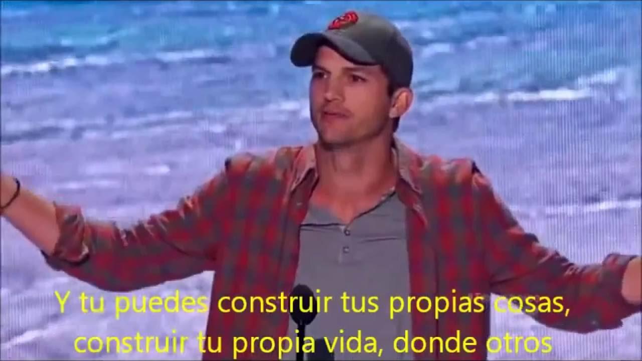 Discurso Motivacional Para Jóvenes De Ashton Kutcher Teen