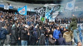 TSV 1860 München: Löwen-Kurve nach Tor von Necat Aygün gegen SV Elversberg