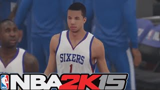 NBA 2k15 PS4 HD Gameplay - Philadelphia 76ers vs Denver Nuggets! ft. Michael Carter Williams & More!