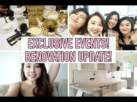 VLOGDAY: EXCLUSIVE EVENTS, RENOVATION UPDATE!