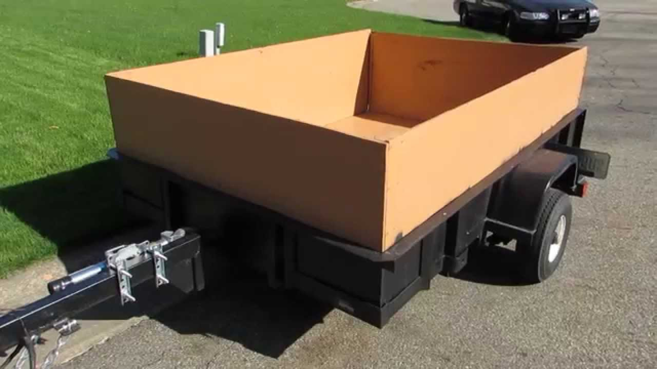 The Basics Of Buying A Cheap Utility Trailer - YouTube