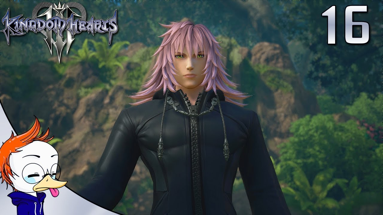 Kingdom Hearts 3 Part 16 Marluxia