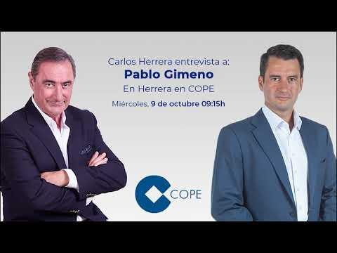 Entrevista de Carlos herrera en cope a Pablo Gimeno sobre economía