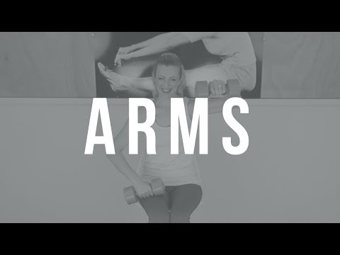 Easy Toning Workout to Shape Your Arms/ Fibro-Fit Series
