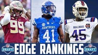 NFL Draft EDGE Rankings 2019 (NFL Draft Position Rankings 2019) EDGE RUSHER Rankings